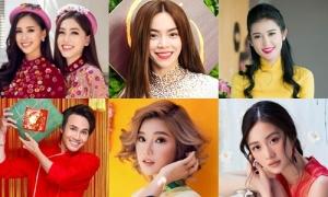 Sao Việt nô nức chúc Tết Kỷ Hợi độc giả iOne