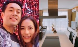 Dương Khắc Linh lần đầu đón Tết cùng Sara Lưu trong căn hộ khang trang