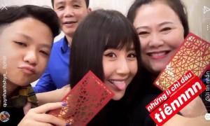 Sao Việt quây quần bên gia đình, người yêu trong thời khắc giao thừa Kỷ Hợi
