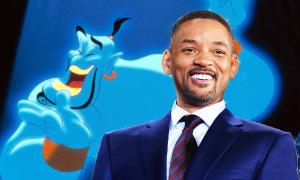 Will Smith hóa thần đèn xanh lét trong teaser mới nhất của 'Aladdin'