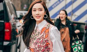 Jessica mặc đẹp miễn chê nhưng gương mặt lạ lẫm khó hiểu