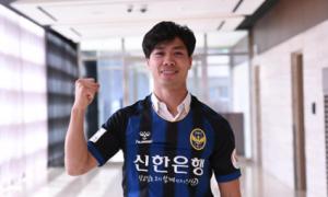 Công Phượng chơi thăng hoa bằng bàn thắng đầu tiên ở CLB Incheon United