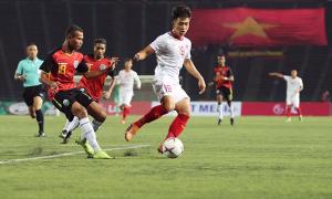 Hai cầu thủ U22 Việt Nam gặp chấn thương trước trận cuối vòng bảng
