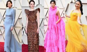 Thảm đỏ Oscar 2019: Các mỹ nhân, minh tinh hàng đầu đọ sắc với váy áo lộng lẫy