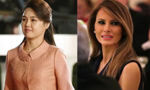 Đệ nhất phu nhân Mỹ và Triều Tiên không đến Hà Nội cùng chồng