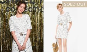 Yoon Ah chứng minh khả năng bán 'cháy hàng' đồ đắt đỏ