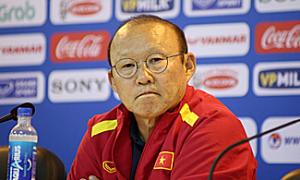 HLV Park Hang-seo: ''Tôi đã dự phòng nếu Đình Trọng không thể thi đấu'