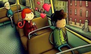 Bạn có tin đi xe bus nhiều sẽ có người yêu?
