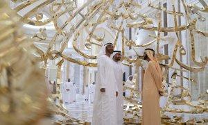 Dinh Tổng thống tráng lệ ở UAE lần đầu mở cửa cho khách tham quan