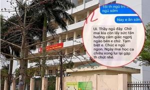 Thầy giáo Thái Bình nhắn tin 'gạ tình' nữ sinh bị điều chuyển công tác