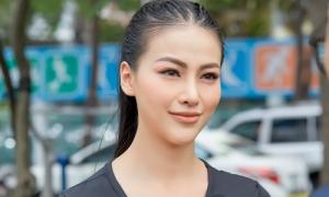 Phương Khánh hào hứng tham gia Giờ Trái đất 2019