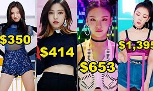 Chi phí phục trang trong MV 'Dalla Dalla' của ITZY là bao nhiêu?