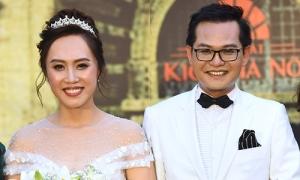 Đám cưới Trung Hiếu và vợ 9x tại Hà Nội