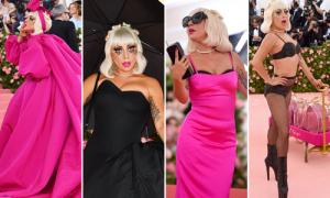 Met Gala 2019: Lady Gaga 3 lần lột đồ ngay trên thảm đỏ