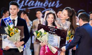 Nhan sắc nổi bật của Nam vương và Hoa khôi ĐH Kinh tế Quốc dân 2019