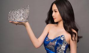 Ngân Anh chuẩn bị trao vương miện Hoa hậu Đại dương cho người kế nhiệm