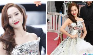 Jessica bị netizen soi mói khi xuất hiện lộng lẫy ở Cannes