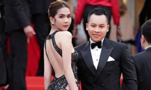 Ngọc Trinh 'mặc như không' lên thảm đỏ Cannes