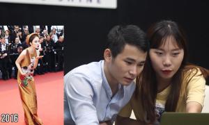 Độc giả bình luận về trang phục sao Việt tại Cannes