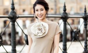 Hoa hậu Hà Kiều Anh sang chảnh dạo phố Sydney