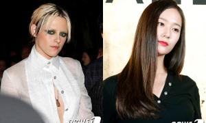 Kristen Stewart dự sự kiện cùng dàn sao Hàn