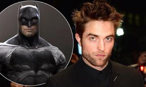 Robert Pattinson chính thức nhận vai Batman