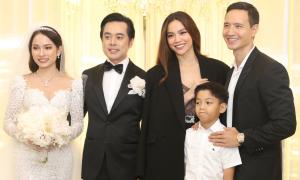 Sao Việt mừng đám cưới Dương Khắc Linh - Sara Lưu