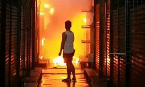 'Chợ cuối tuần hot nhất Bangkok' Chatuchak cháy lớn