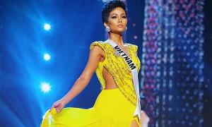 H'Hen Niê 'mặc váy vàng đẹp nhất Miss Universe 10 năm qua'
