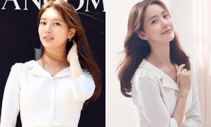Suzy - Yoona 'bất phân thắng bại' khi mặc cùng chiếc váy