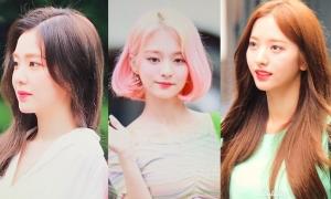 Irene đọ sắc cùng loạt mỹ nhân Kpop trên đường đến Music Bank