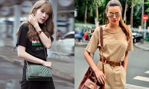 Sao Việt diện áo phông, quần jeans chứng minh 'lụa đẹp vì người'