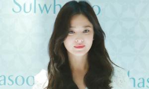 Song Hye Kyo lần đầu xuất hiện sau khi ly hôn