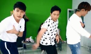 Trấn Thành cùng B Trần, Gin Tuấn Kiệt chế vũ đạo 'Hãy trao cho anh'