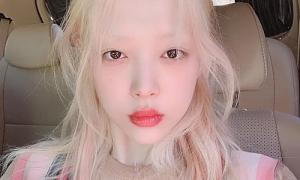 Sulli, Hyuna lăng xê style trang điểm 'không có lông mày'