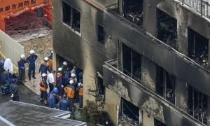 Nạn nhân vụ phóng hỏa xưởng hoạt hình Nhật thành 'đuốc sống' vì cấu trúc tòa nhà