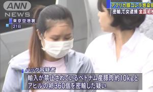 Chồng nữ sinh Việt bị bắt ở Nhật: 'Vợ tôi mang vịt lộn, nem chua sang để ăn'