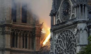 Hai trường học đóng cửa do nồng độ chì từ Nhà thờ Đức Bà Paris