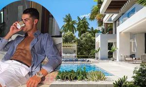 Biệt thự triệu đô nhìn ra biển của Ronaldo