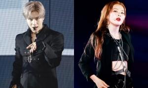 Tae Min (SHINee) và Seul Gi (Red Velvet) gây sốt tại concert SM