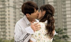 Hari Won không sợ bị chồng ghen khi đóng cảnh hôn sâu