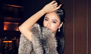 Angela Phương Trinh bị chỉ trích vì dùng khăn lông cáo tự nhiên