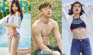 6 sao Hàn có vẻ đẹp quyến rũ phù hợp với concept 'công viên nước mùa hè'