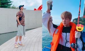 BTS được khen về cách tận hưởng kỳ nghỉ 'giản dị, lành mạnh'