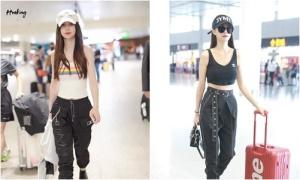 Dàn mỹ nhân Trung Quốc khoe eo thon với thời trang sân bay