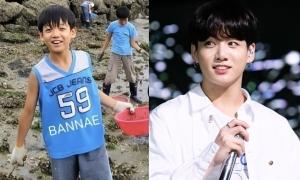 Ảnh thời bé của Jung Kook (BTS) gây sốt mạng xã hội