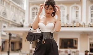 Đông Nhi ngày càng sành điệu trong ăn mặc