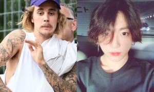 Justin Bieber bị chỉ trích vì chúc mừng Jung Kook