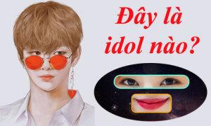 Cặp mắt, đôi môi này là của idol Hàn nào? (2)