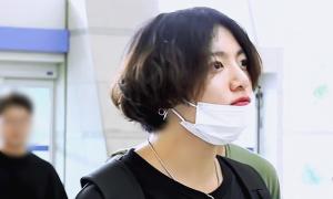 Jung Kook (BTS) bị chê cười về kiểu tóc 'như phụ nữ'
